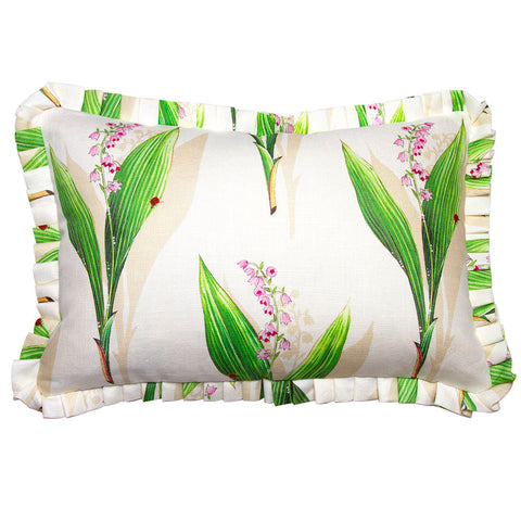 Clarence House Lily of the Valley Linen