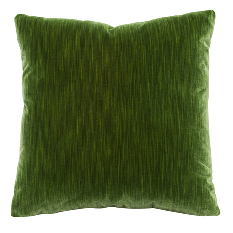 Emerald Silk Velvet Strie