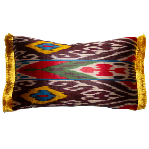 Multi-Colored Silk Ikat