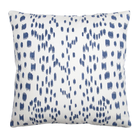 Brunschwig & Fils 'Les Touches' Indigo Cotton