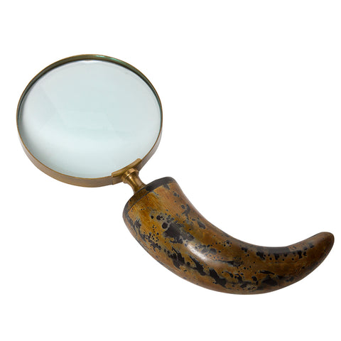 Horn Handle Magnifying Glass