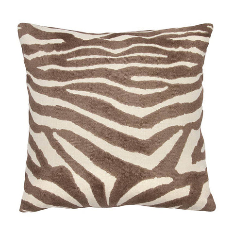 Clarence House Brown Zebra Linen