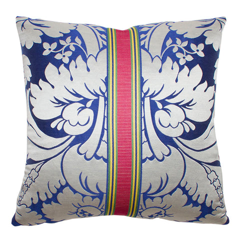Clarence House Urbino Royal Blue Silk