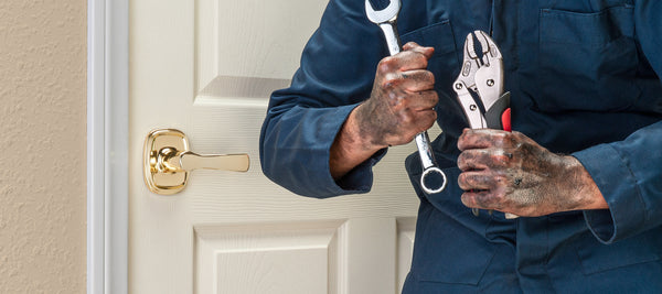 What are the different types of residential door locks?