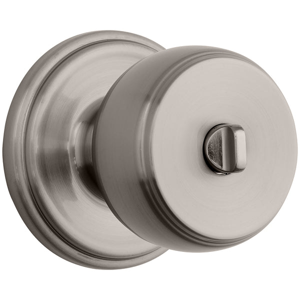 Ganyon Push Pull Rotate bed / bath knob satin nickel