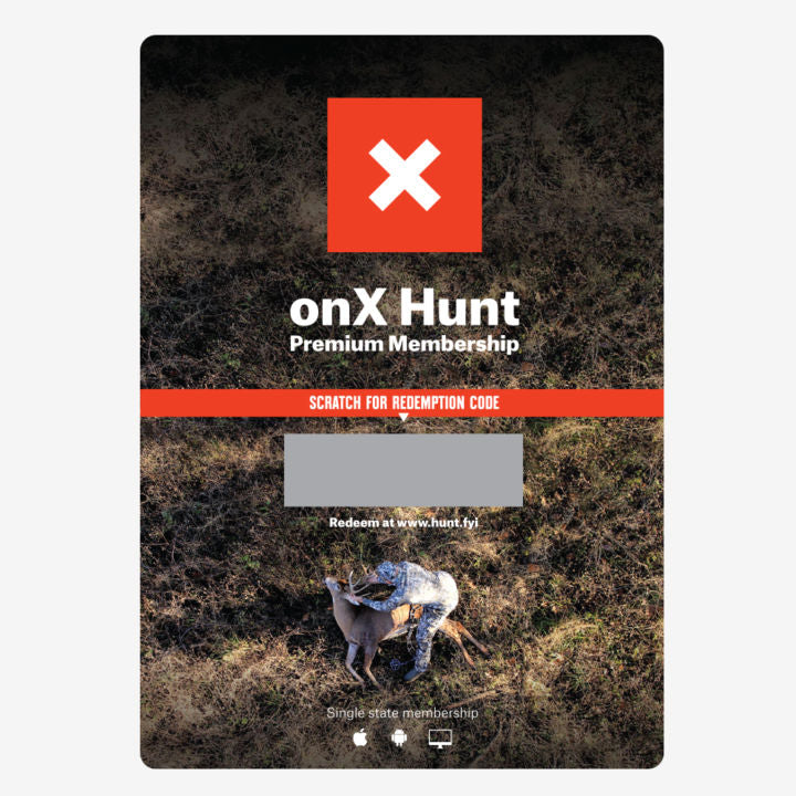 Hunt Premium Membership Card
