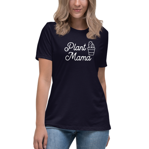 Plant Mama Fitted Shirt