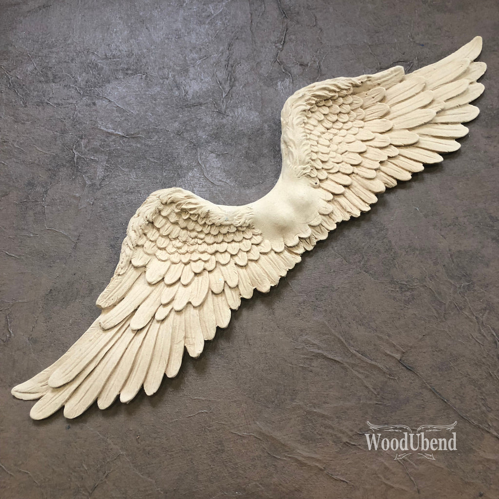 WoodUbend 0960  Angel Wings 42.5cm x 11.5cm - Unique Home Pieces