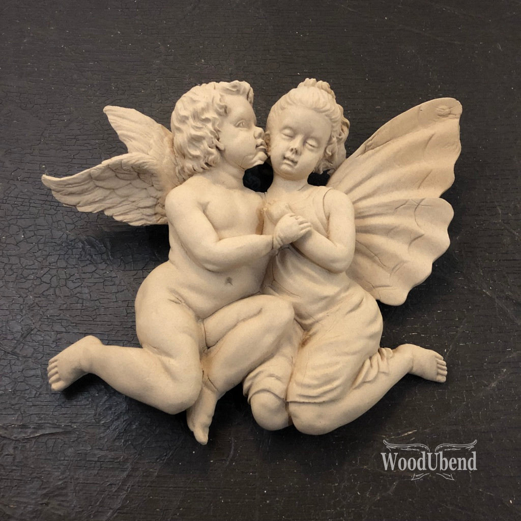 WoodUbend 2027 Cherubs 18x15cm - Unique Home Pieces