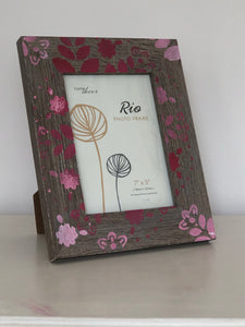 Hand Painted Picture Frames - New & Hand Painted - Unique Home Pieces