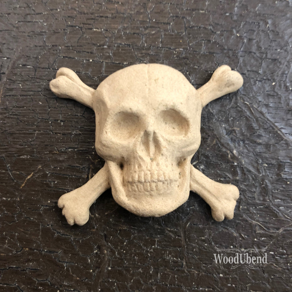 WoodUbend 0091 Scull 4x5 cm - Unique Home Pieces