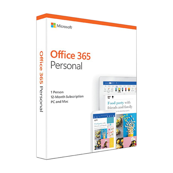 Microsoft Office 365 Personal Edition (One-Year Subscription)