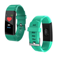 Load image into Gallery viewer, Kids activity tracker colour tracker FOURFIT MINI 2  tracker kids fitbit fitness watch band for children mini 2