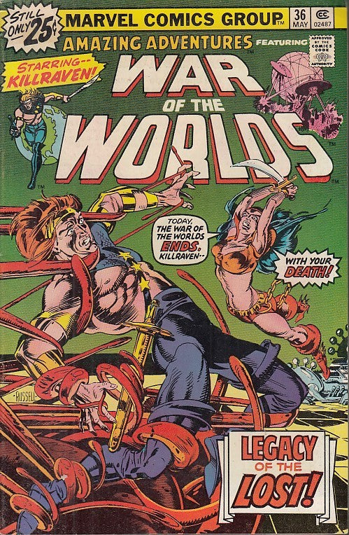 FL- WORLD OF THE WORLDS N.36 -- MARVEL COMICS USA - 1976 - S - PBX