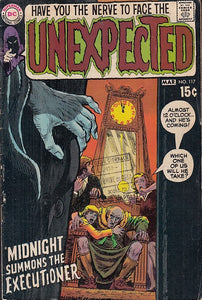 FL- THE UNEXPECTED N.117 -- DC COMICS USA - 1970 - S - PBX