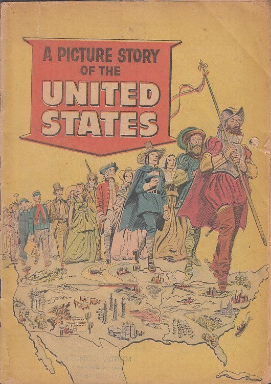 FL- A PICTURE STORY OF THE UNITED STATES -- MUNDO COMICS USA - 1970 - S - PBX