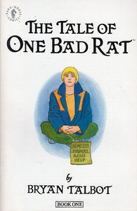 FL- THE TALE OF ONE BAD RAT 1/4 COMPLETE- TALBOT- DARK HORSE USA- 1994- S- PBX