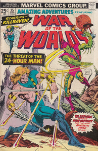 FL- WAR OF THE WORLDS N.35 -- MARVEL COMICS USA - 1975 - S - PCX