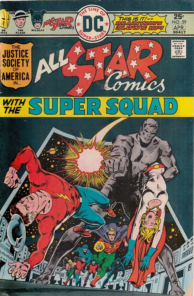 FL- ALL STAR COMICS N.59-- DC COMICS USA- 1976- S- PBX