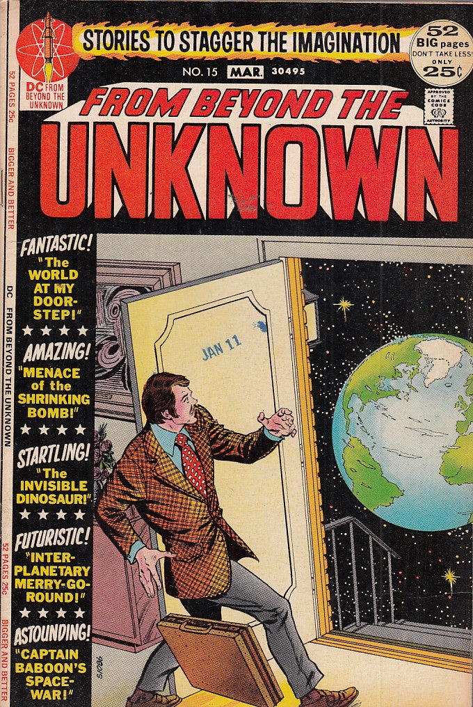 FL- FROM BEYOND THE UNKNOWN N.15 -- DC COMICS USA - 1975 - S- PBX