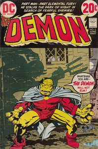 FL- DEMON N.9 -- DC COMICS USA - 1972 - S - PCX