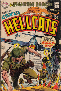 FL- OUR FIGHTING FORCES HELLCATS N.120 -- DC COMIC USA - 1969 - S - PCX
