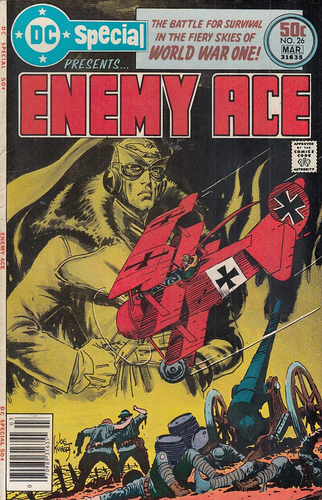 FL- DC SPECIAL ENEMY ACE N.26 -- DC COMIC USA - 1977 - S - PCX