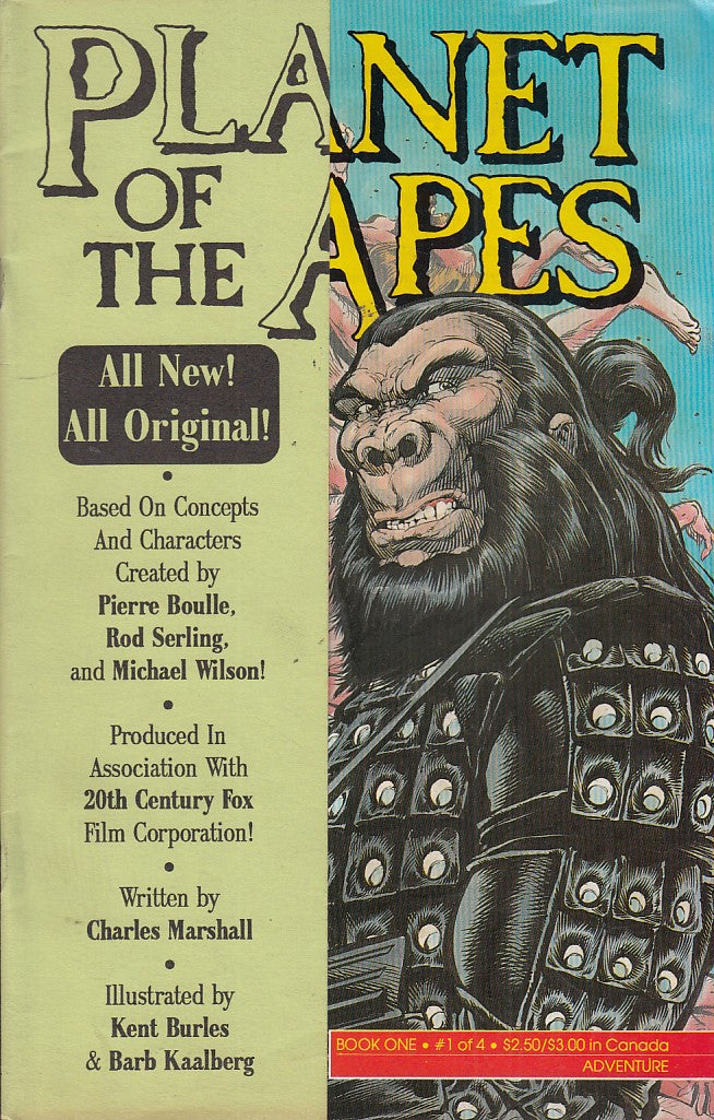 FL- PLANETS OF APES N.1-- ADVENTURE COMICS- 1990- S- PBX
