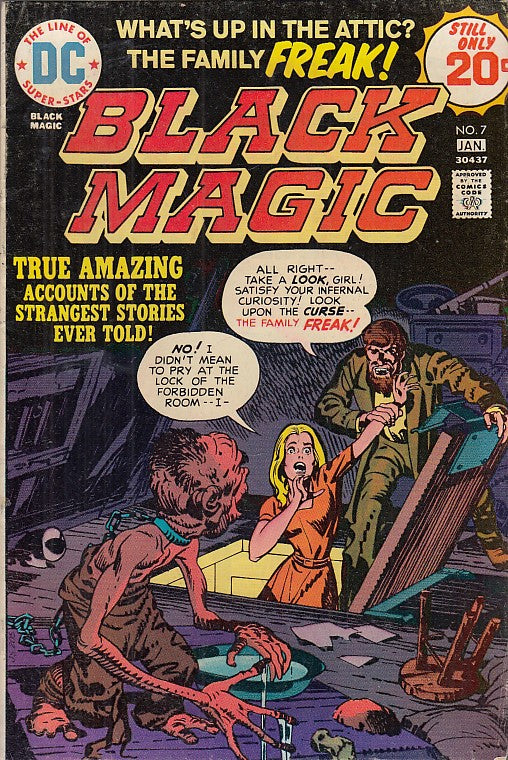 FL- BLACK MAGIC N.7 -- DC COMICS USA - 1974 - S - PDX