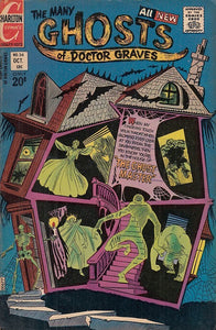FL- THE MANY GHOSTS OF DOCTOR GRAVES N.34 -- CHARLTON COMICS USA - 1972 - S- PDX