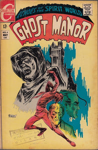 FL- GHOST MANOR N.6 -- CHARLTON COMICS USA - 1969 - S - PDX