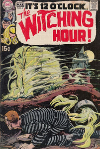 FL- IT'S MIDNIGHT THE WITHING HOUR N.7 -- DC COMICS USA - 1970 - S-PFX