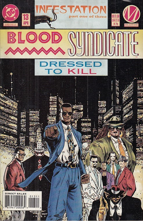 FL- BLOOD SYNDICATE N.13 -- DC COMICS USA - 1994 - S - PFX