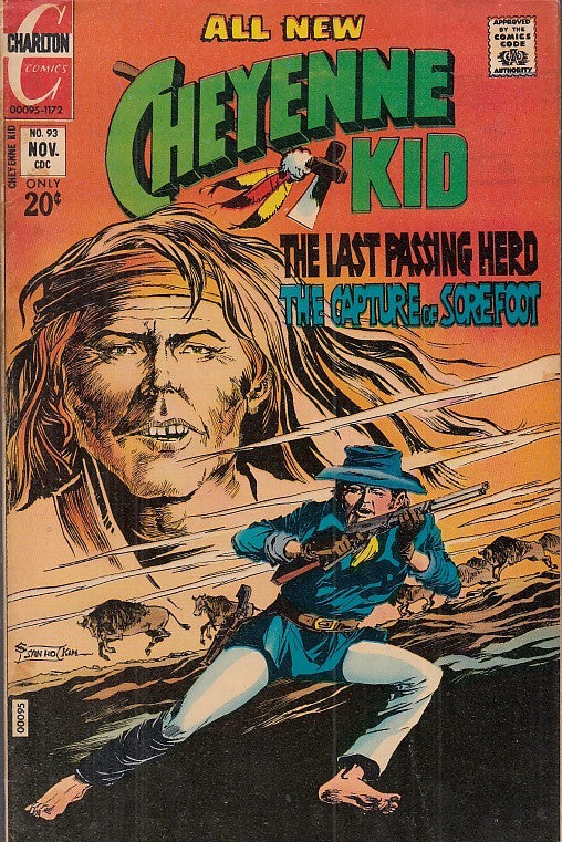 FL- ALL NEW CHEYENNE KID N.93 -- CHARLTON COMICS USA - 1972 - S- PFX