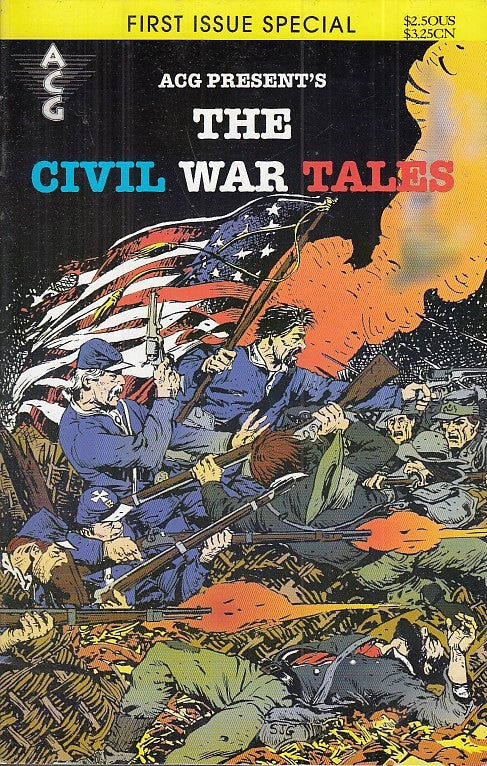 FL- THE CIVIL WAR TALES FIRST ISSUE SPECIAL -- ACG COMICS USA - 1988 - S- PFX