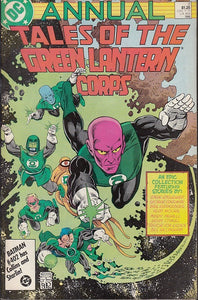 FL- ANNUAL TALES OF THE GREEN LANTERN CORPS N,2 -- DC USA - 1986 - S - PDX