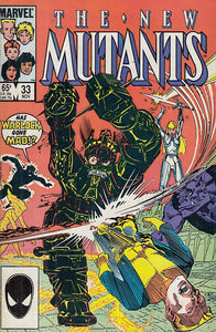 FL- NEW MUTANTS N.33 OTTIMO -- MARVEL COMICS USA - 1985 - S - PLX