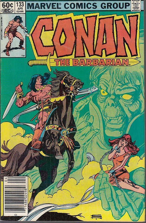 FL- CONAN THE BARBARIAN N.133 -- MARVEL COMICS USA - 1982 - S - PQX