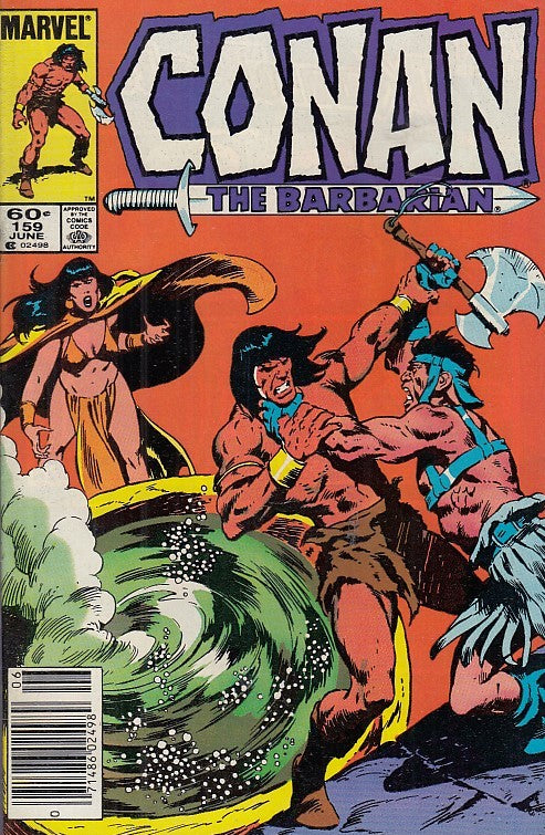 FL- CONAN THE BARBARIAN N.159 -- MARVEL COMICS USA - 1984 - S - PQX