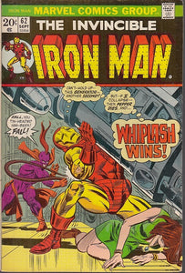 FL- THE INVINCIBLE IRON MAN N.62 -- MARVEL COMICS USA - 1973 - S - PRX