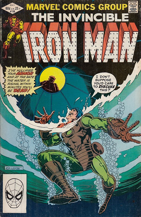 FL- IRON MAN N.158 -- MARVEL COMICS USA - 1982 - S - PRX