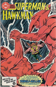 FL- DC COMICS PRESENTS N.95 SUPERMAN & HAWKMAN -- DC COMICS - 1986 - S - PNX