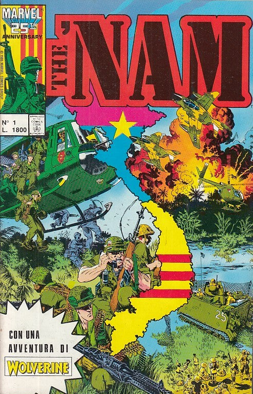 FL- THE 'NAM N.1 -- PLAY PRESS - 1989 - S - PQX