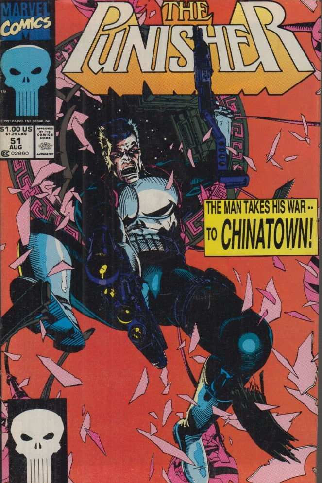 FL- THE PUNISHER N.51 IN LINGUA ORIGINALE -- MARVEL COMICS USA - 1991 - S - NQX