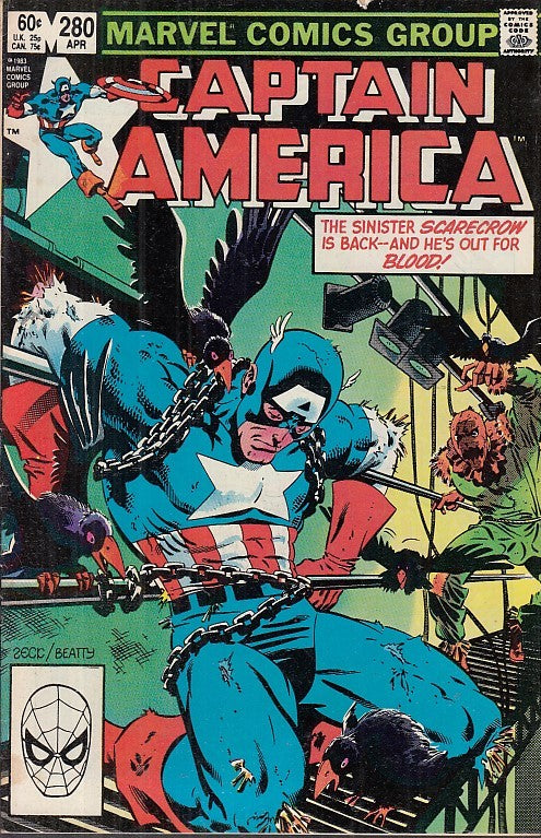 FL- CAPTAIN AMERICA N.280 -- MARVEL COMICS USA - 1983 - S - PQX