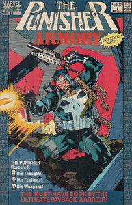 FL- THE PUNISHER ARMORY N.1 IN LINGUA ORIGINALE -- MARVEL USA - 1990- S- NQX
