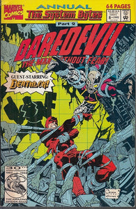 FL- DAREDEVIL ANNUAL N.8 THE MAN WITHOUT FEAR -- MARVEL COMICS USA- 1992- B- NQX