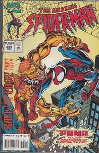FL- THE AMAZING SPIDER-MAN N.395 -- MARVEL COMICS USA - 1994 - S - PQX