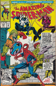 FL- THE AMAZING SPIDER-MAN N.367 -- MARVEL COMICS USA - 1992 - S - PQX