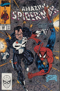 FL- THE AMAZING SPIDER-MAN N.330 -- MARVEL COMICS USA - 1990 - S - PQX